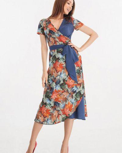 Разноцветное платье Giulia Rossi