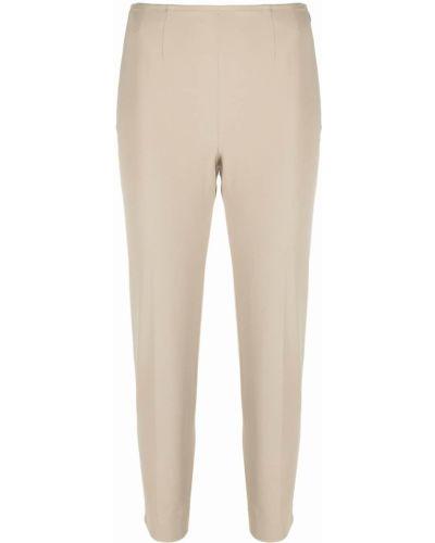 Укороченные брюки - бежевые Pt01