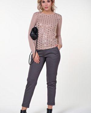 Блузка с пайетками из вискозы Valentina
