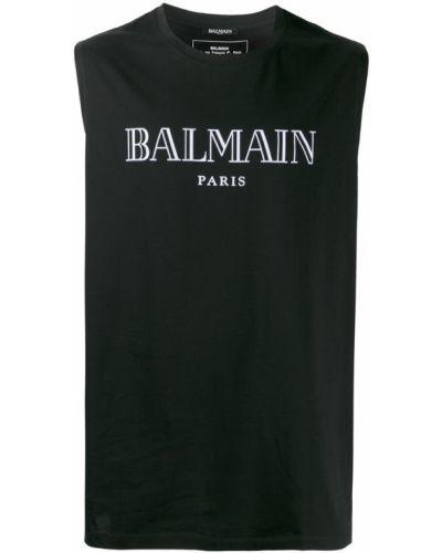 Топ черный Balmain