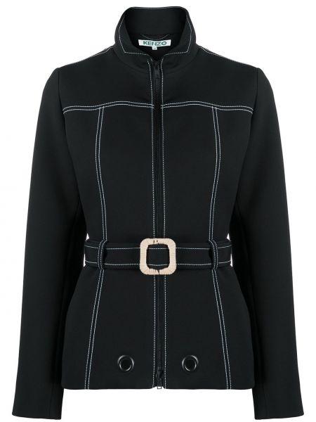 Куртка черная на молнии Kenzo