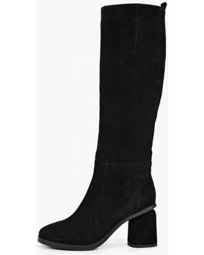 Ботинки на каблуке осенние черные Marie Collet