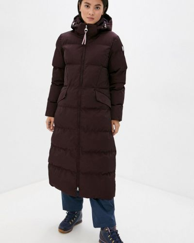 Красная теплая куртка Luhta