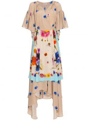 Шелковое платье с запахом Natasha Zinko