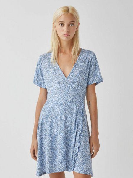 Платье с запахом Pull&bear
