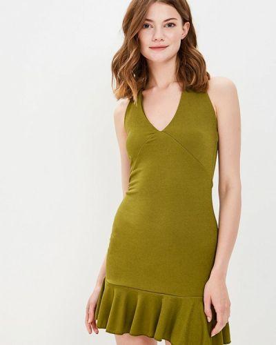 Платье мини зеленый хаки Edge Street