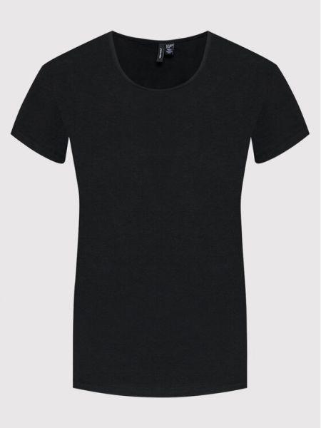 Czarna t-shirt Vero Moda Curve
