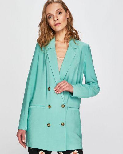 Классический пиджак прямой бирюзовый Vero Moda