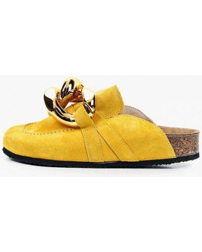 Желтые сабо Grand Style
