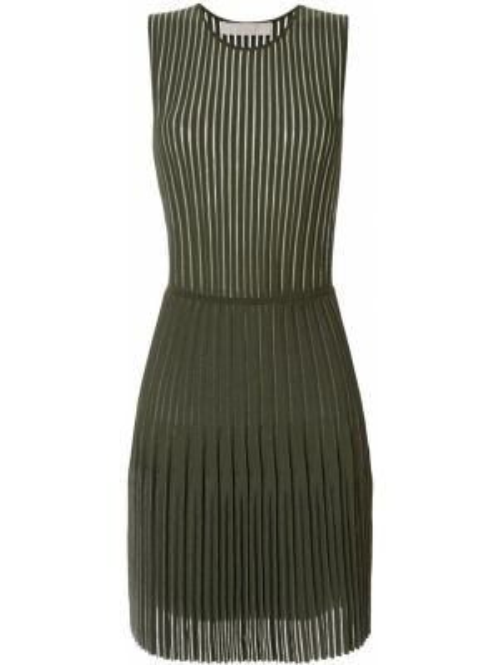 Платье плиссированное прямое Dion Lee