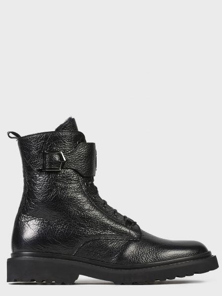 Кожаные ботинки - черные Frankie Morello