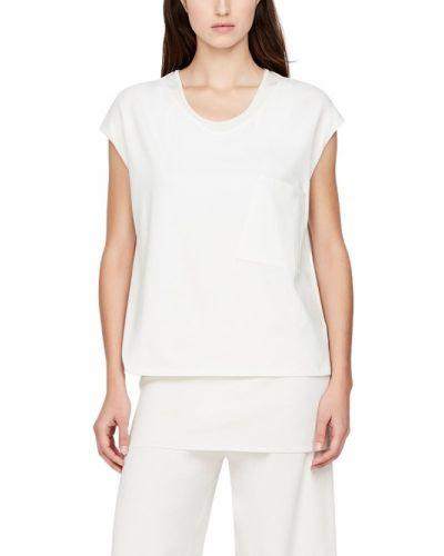 Biały t-shirt Sarah Pacini