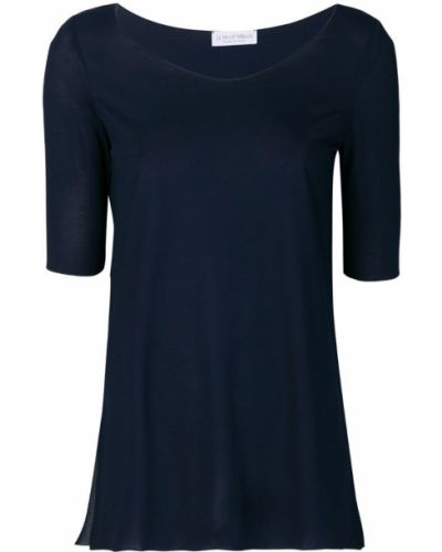 Футбольная синяя базовая футболка Le Tricot Perugia