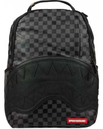 Czarny plecak na laptopa Sprayground