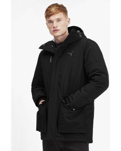 Куртка черная осенний Puma