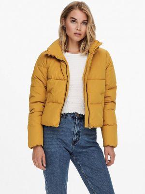 Утепленная куртка - желтая Only