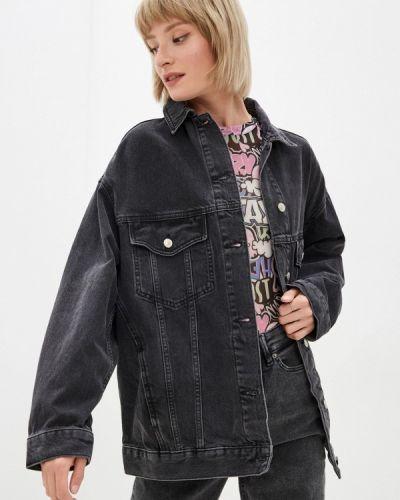 Джинсовая куртка - черная Topshop
