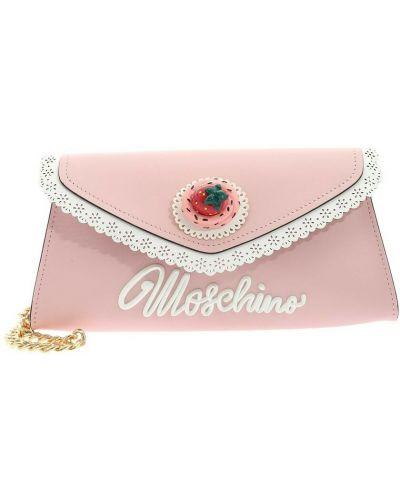 Różowy łańcuszek Moschino