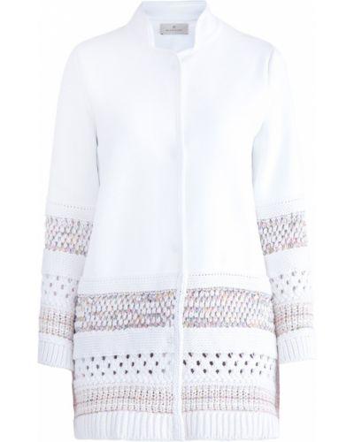 Пальто на кнопках - белое Maison Ullens