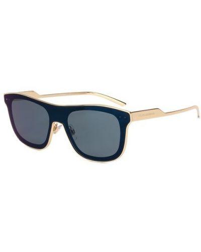 Солнцезащитные очки черные Dolce & Gabbana