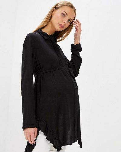 Черная туника для беременных Mama.licious