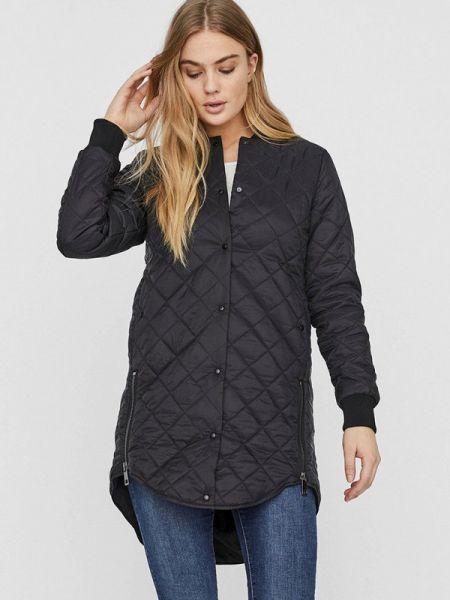 Утепленная куртка демисезонная черная Vero Moda