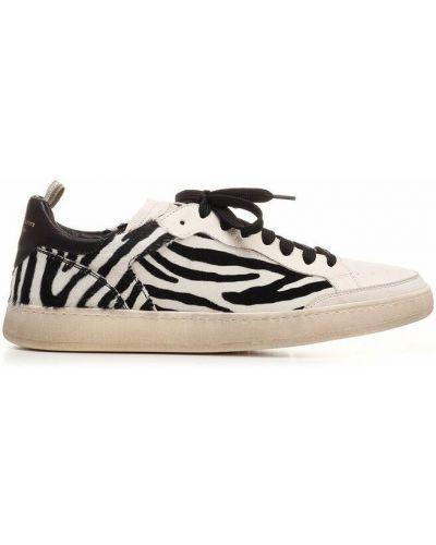 Sneakersy - beżowe Officine Creative