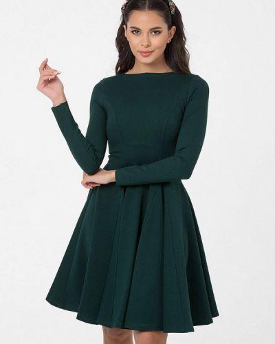 Прямое зеленое платье Lmp