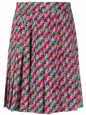 Плиссированная юбка - зеленая See By Chloé