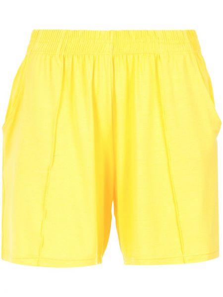 Желтые шорты с карманами Lygia & Nanny