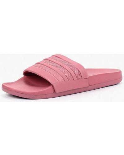 Розовые сланцы Adidas