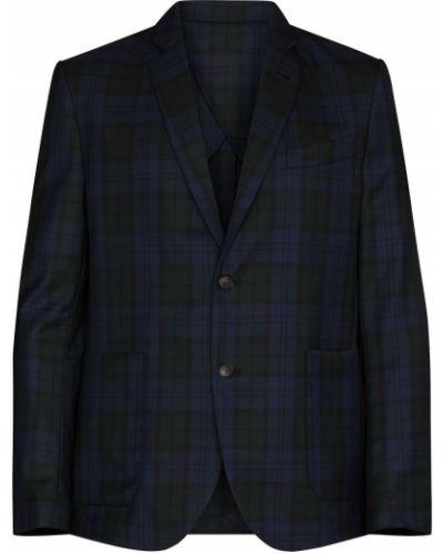 Шерстяной пиджак - черный Wood Wood