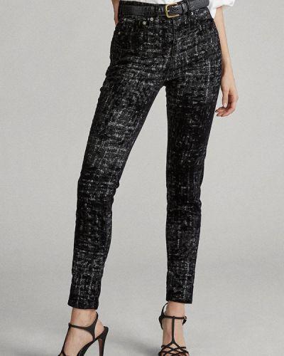 Черные джинсы-скинни узкого кроя Polo Ralph Lauren