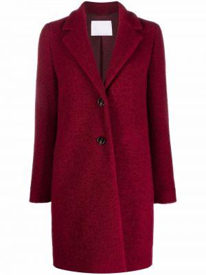 Шерстяное пальто - розовое Boss Hugo Boss