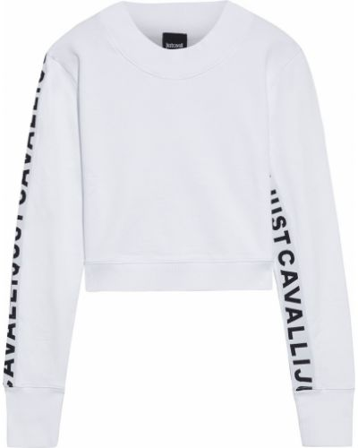 Bluza dresowa - biała Just Cavalli