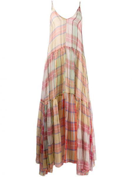 Платье на бретелях с V-образным вырезом Forte Forte