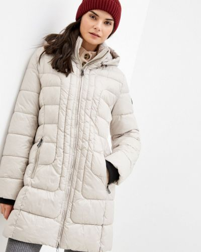 Бежевая теплая куртка Betty Barclay