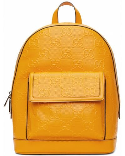 Plecak skórzany - czarny Gucci