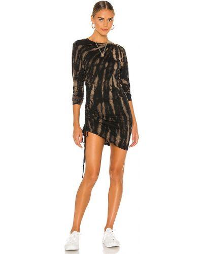 Трикотажное платье - черное Pam & Gela