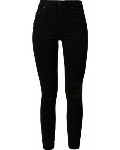 Черные джинсовые зауженные джинсы с завышенной талией Nobody Denim