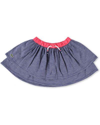 Синяя юбка Lacoste