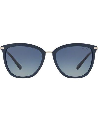 Niebieskie okulary Ralph Lauren