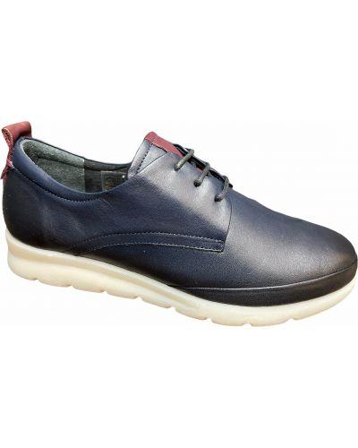 Кожаные туфли - синие Nod Trend