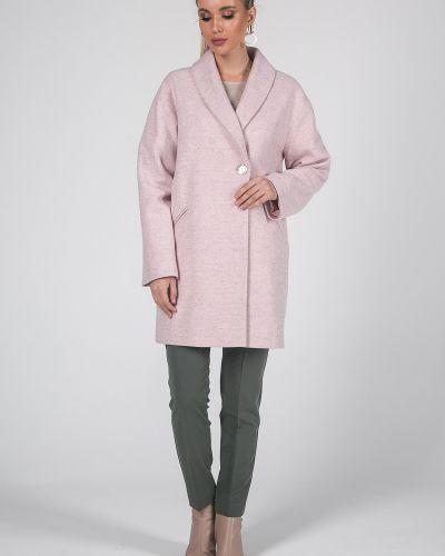 Свободное кашемировое длинное пальто свободного кроя Valentina