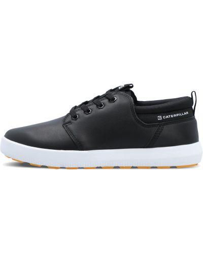 Черные кружевные ботинки Caterpillar