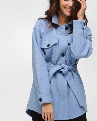 Koszula wełniana - niebieska Orsay