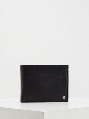 Черный кожаный портмоне John Richmond