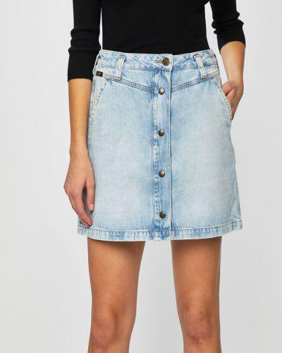 Юбка миди джинсовая карандаш Lee