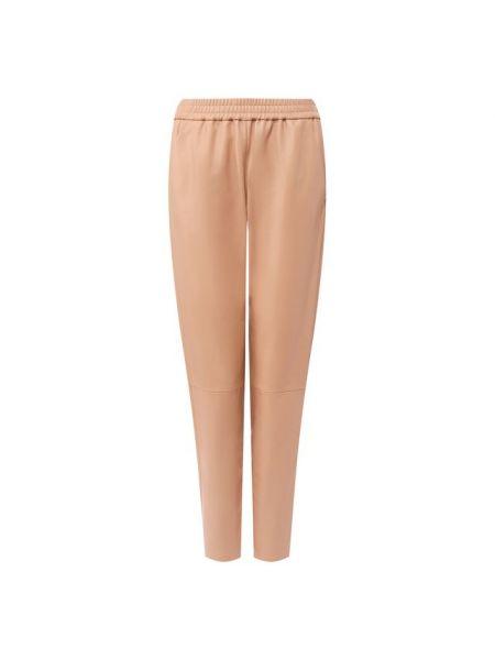 Укороченные брюки с поясом кожаные Drome