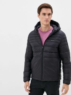 Черная демисезонная куртка Jack & Jones
